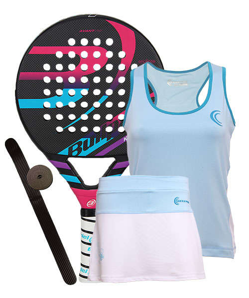 PACK BULLPADEL KATA LIGHT 2016 Y CONJUNTO ECLYPSE