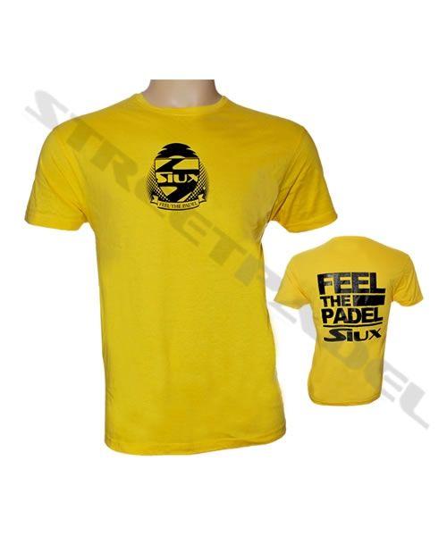 Camiseta Feel Amarilla Padel Siux Streetpadel The Algodon T3lJFcK1