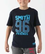 CAMISETA JOHN SMITH FAXCOL JUNIOR AZUL MARINO