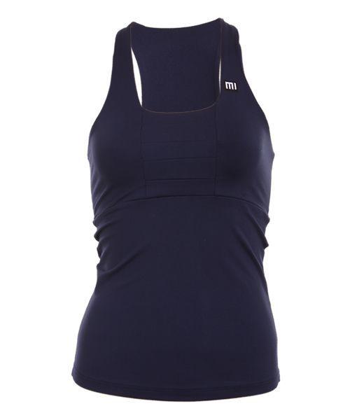 7f32bca29 Camiseta nadadora Mi Activewear Coco azul marino - Exclusividad moda