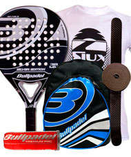 PACK BULLPADEL SILVER EDITION Y MOCHILA