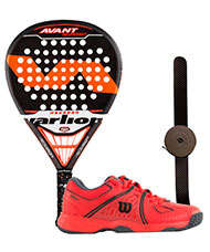 PACK VARLION AVANT CARBON DIFUSOR HEXAGON Y ZAPATILLAS WILSON