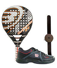 PACK BULLPADEL BP10 PRO Y ZAPATILLAS WILSON NVISION