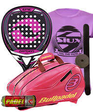 PACK ORYGEN EPIC LADY Y PALETERO BULLPADEL