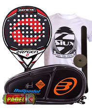 PACK ORYGEN GENETIC Y PALETERO BULLPADEL