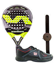 VARLION LW CARBON 3 LTD Y ZAPATILLAS WILSON