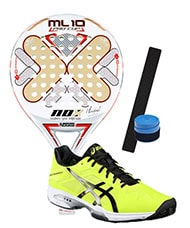 PACK NOX ML10 PRO CUP 2016 Y ASICS GEL SOLUTION SPEED 3
