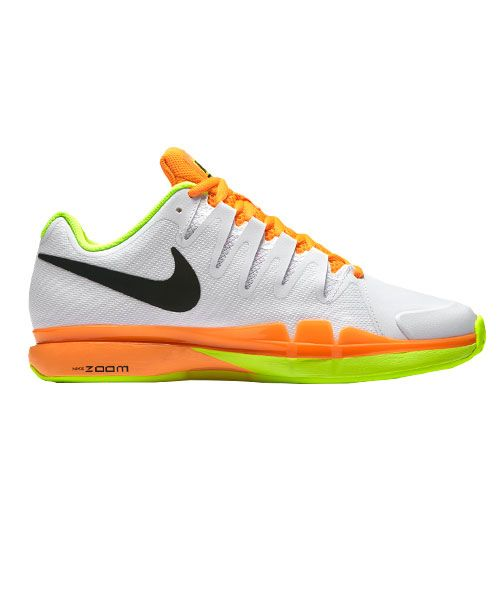 NIKE ZOOM VAPOR 9.5 TOUR CLAY BLANCO NARANJA 631457 107