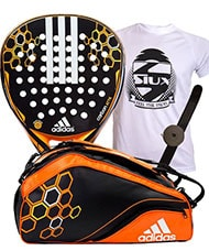 PACK ADIDAS PALA Y PALETERO CARBON ATTACK