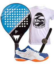 PACK ADIDAS FAST COURT AZUL Y ZAP JHAYBER