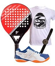 PACK ADIDAS FAST COURT ROJA Y ZAP JHAYBER