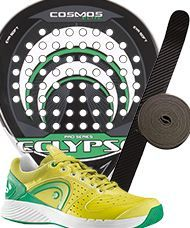 PACK ECLYPSE COSMOS ELITE Y ZAPATILLAS HEAD SPRINT