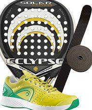 PACK ECLYPSE SOLAR Y ZAPATILLAS HEAD SPRINT