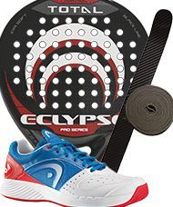 PACK ECLYPSE TOTAL Y ZAPATILLAS HEAD SPRINT