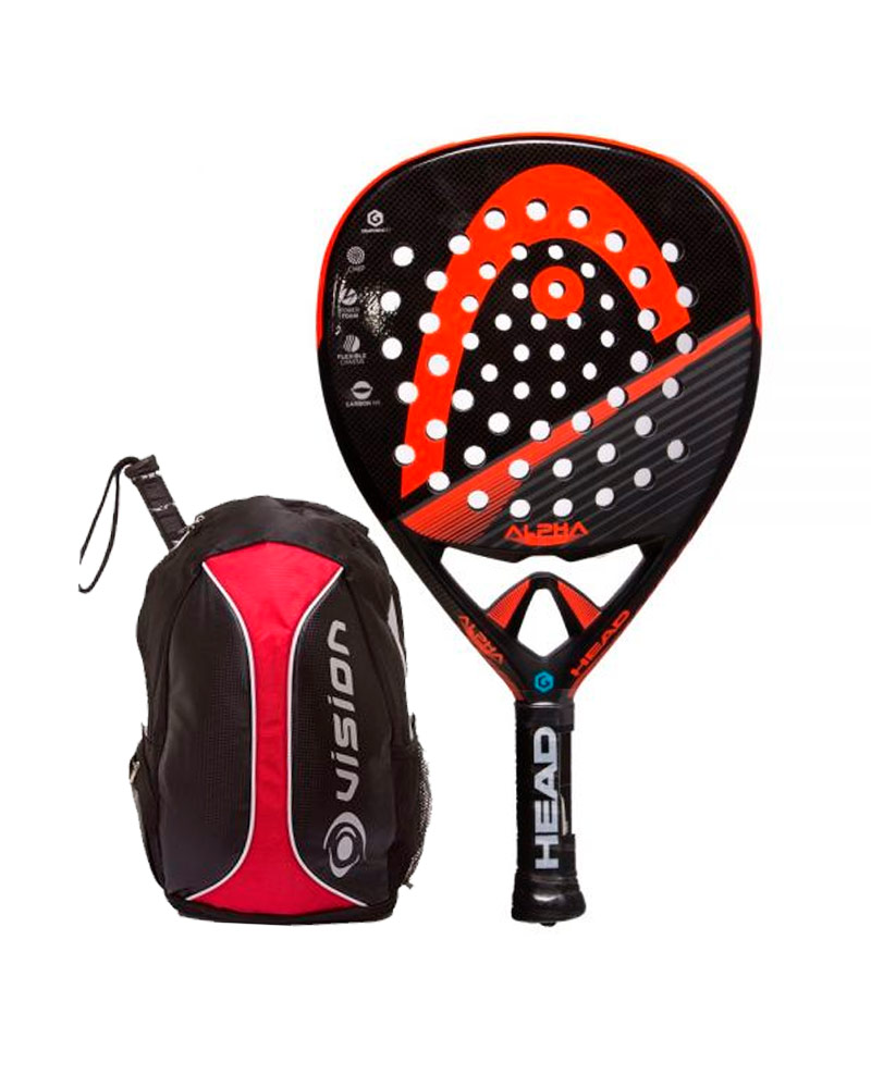 PACK HEAD GRAPHENE XT ALPHA PRO LTD Y MOCHILA VISION
