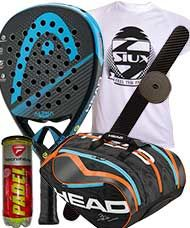 PACK HEAD GRAPHENE XT ALPHA ELITE Y PALETERO HEAD DELTA BELA MONSTERCOMBI 2016