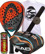 PACK HEAD GRAPHENE XT DELTA ELITE Y PALETERO HEAD DELTA BELA MONSTERCOMBI