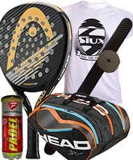 PACK HEAD GRAPHENE TORNADO E 2016 PRO Y PALETERO HEAD DELTA BELA MONSTERCOMBI 2016