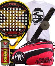 PACK NOX MAGMA MATE 2016 Y PALETERO PADEL SESSION