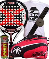 PACK NOX STINGER 2.1 2016 Y PALETERO PADEL SESSION