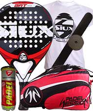 PACK SIUX BAT PRO Y PALETERO PADEL SESSION