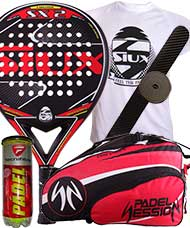 PACK SIUX SX2 2015 Y PALETERO PADEL SESSION