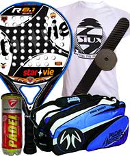 PACK STAR VIE R 8.1 CARBON SOFT 2014 Y PALETERO PADEL SESSION
