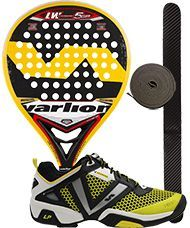PACK VARLION LW CARBON 5 GP AMARILLA 2015 Y ZAPATILLAS
