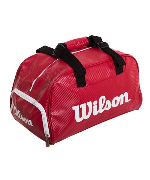 2b57abd2e Bolsa deportiva Wilson Dufell Small | Macuto deportivo rojo