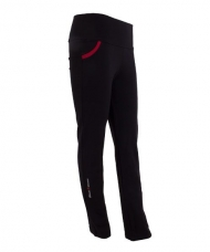 PANTALON BLACK CROWN CHELSEA NEGRO ROJO