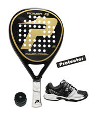 PACK POWER PADEL F5 Y ZAPATILLAS SIUX