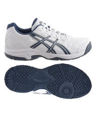 ASICS GEL ESTORIL COURT GS BLANCO NAVY  C209Y 0150