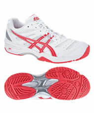 ASICS GEL SOLUTION SLAM BLANCO ROSA E364N 0121