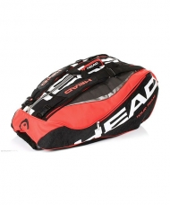RAQUETERO TOUR TEAM 12R MONSTERCOMBI NEGRO ROJO