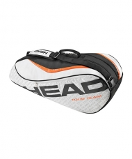 RAQUETERO HEAD TOUR TEAM 6R COMBI GRIS PLATA