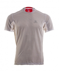 CAMISETA SALOMON TRAIL RUNNER BLANCA 393853