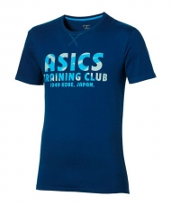CAMISETA ASICS TRAINNING CLUB AZUL