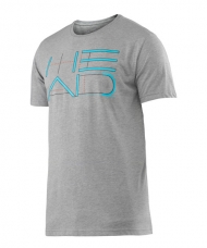 CAMISETA HEAD TRANSITION DUKE GRAPHIC GRIS