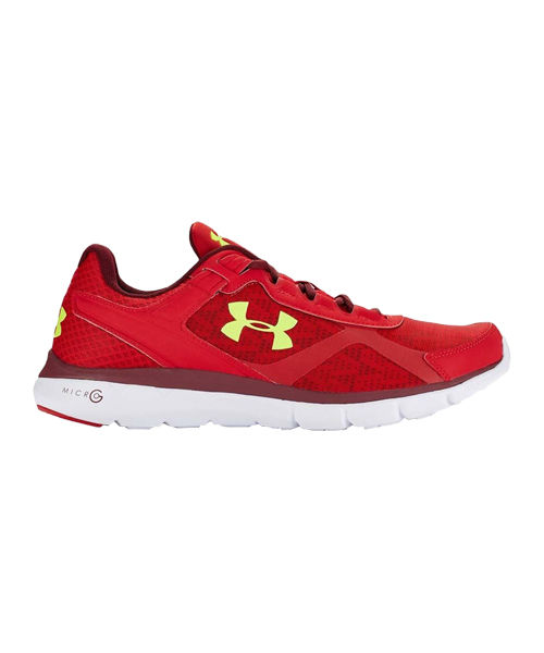 Zapatillas Under Armour Rojas