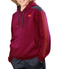 SUDADERA JOHN SMITH VELASCO JUNIOR GRANATE