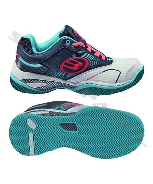 a2e123b93ff5 Zapatillas Bullpadel Beta Woman Marino Celeste 2014