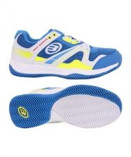 ZAPATILLAS BULLPADEL BONSO MAN BLANCO AZUL REAL