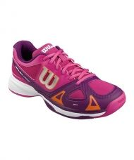 ZAPATILLAS WILSON RUSH PRO JUNIOR ROSA FIESTA