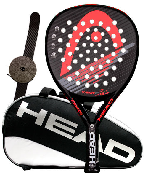 PACK HEAD TORNADO BELA 2015 Y PALETERO HEAD PADEL SUPERCOMBI