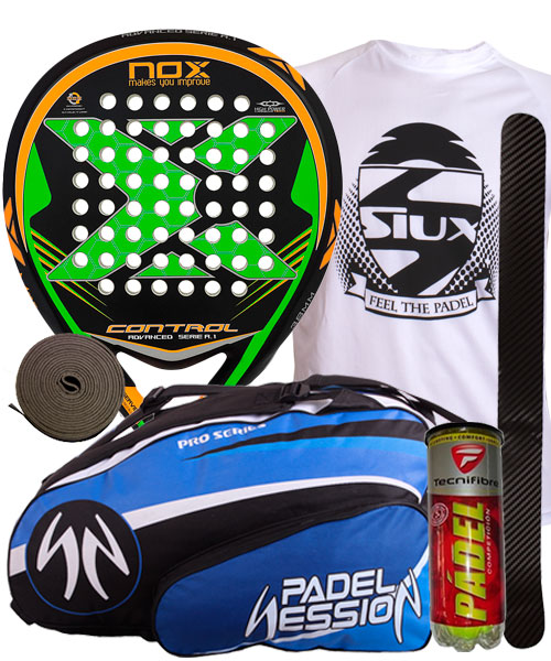 PACKS NOX CONTROL A.1 Y PALETERO PADEL SESSION